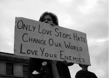 Love Your Enemies. Seriously.