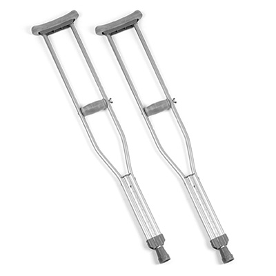 drop your crutches